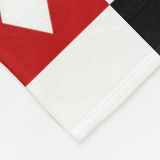 Card suit pattern game room decor blanket