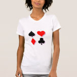 Card Suits Tee Shirts