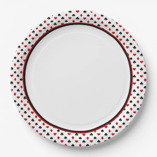 Card Suits Theme | Poker Theme Paper Plate