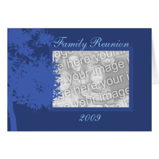Card Template - Family Reunion