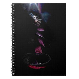 Card Toss Spiral Notebooks