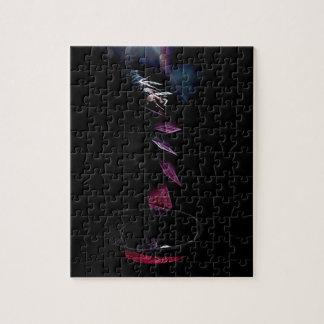 Card Toss Jigsaw Puzzle
