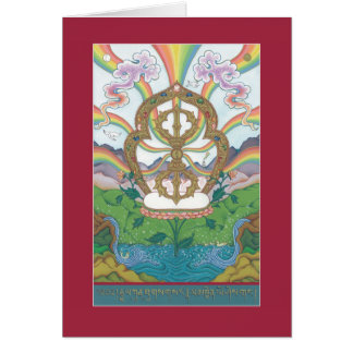 CARD Vajra (Dorje) - with explanation