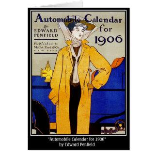 Card: Vintage - Auto Calendar - Penfield Card