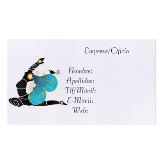 Card Visits Yoga Pack Of Standard Business Cards