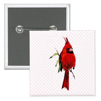 Cardan Cardinal Pinback Buttons