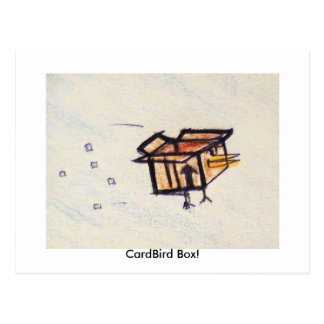 CardBird Box! Postcard