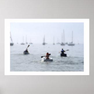 Cardboard Boat Regatta Poster