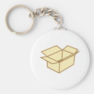Cardboard box key ring