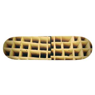 Cardboard squares skateboard