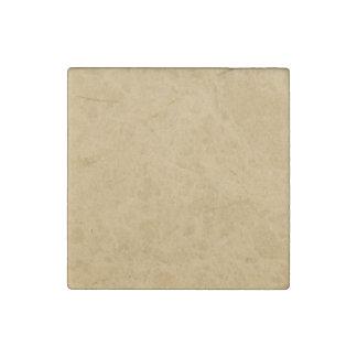 Cardboard texture stone magnet