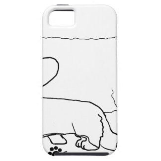 Cardi with a Sheep Standing iPhone 5 Cover