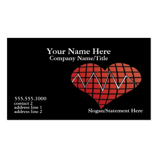 Cardiac Business Card