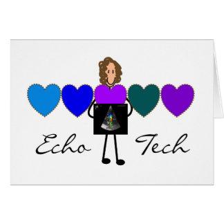Cardiac Echo Technician Unique Gifts Card