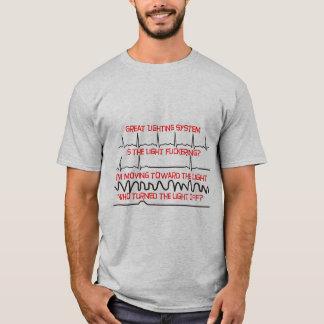 Cardiac Lighting System --Cardiac Nurse Gifts T-Shirt