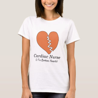 "Cardiac Nurse ""I Fix Broken Hearts"" T-Shirt"