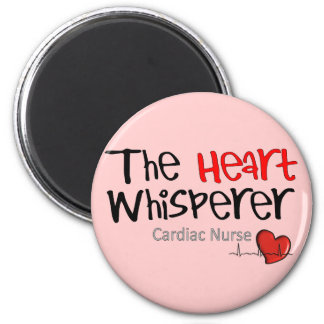Cardiac Nurse T-Shirts & Gifts 6 Cm Round Magnet