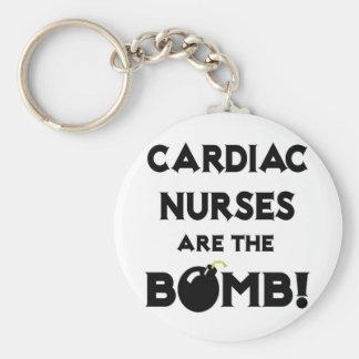 Cardiac Nurses Are The Bomb Keychain