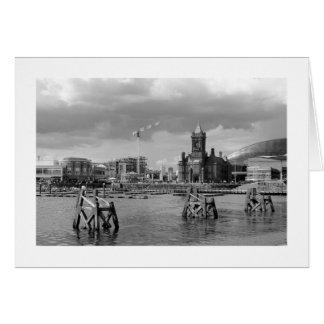 Cardiff Bay, Cardiff, Wales Greeting Card
