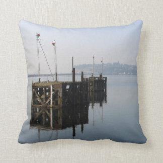 Cardiff Bay Reflections Cushion