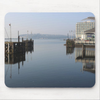 Cardiff Bay Reflections Mouse Pad