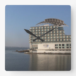 Cardiff Bay (Summer) Square Wall Clock