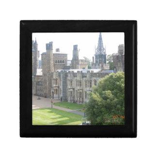 Cardiff Castle Small Square Gift Box