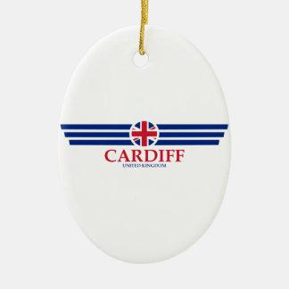 Cardiff Ceramic Ornament