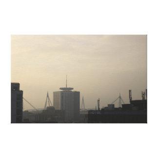 Cardiff City Skyline Canvas Print