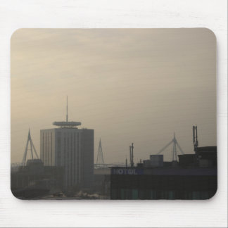 Cardiff City Skyline Mouse Pad