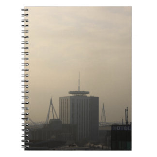 Cardiff City Skyline Spiral Notebook
