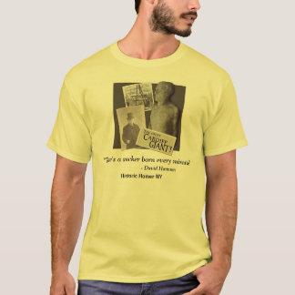 Cardiff Giant w/David Hannum Quote Tee Shirt