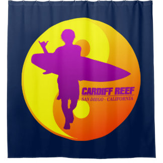 Cardiff Reef Shower Curtain