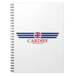 Cardiff Spiral Notebook