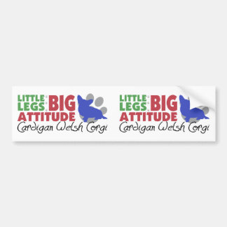 Cardigan Little Legs Bumper Sticker