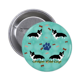 Cardigan Welsh Corgi 6 Cm Round Badge