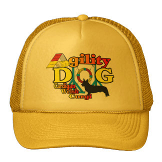 cardigan welsh corgi agility gifts mesh hat