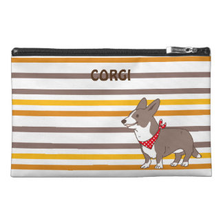 cardigan welsh corgi border travel accessory bag
