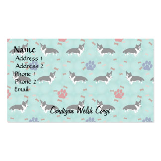 Cardigan Welsh Corgi Double-Sided Standard Business Cards (Pack Of 100)