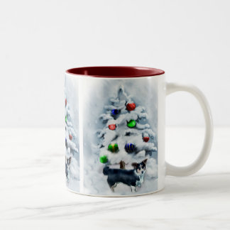 Cardigan Welsh Corgi Christmas Mugs