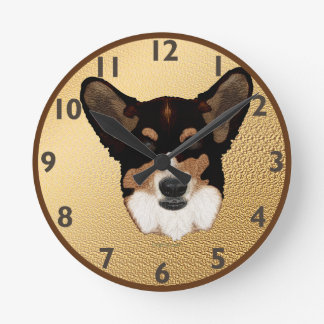 Cardigan Welsh Corgi Clock