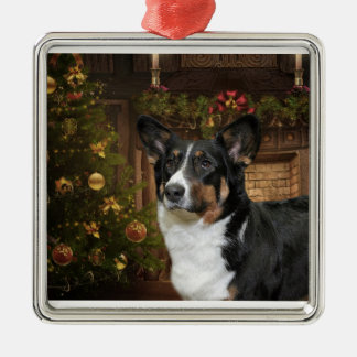 Cardigan Welsh Corgi Christmas Tree Ornament