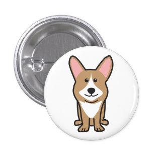 Cardigan Welsh Corgi Dog Cartoon Pins