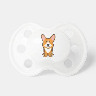 Cardigan Welsh Corgi Dog Cartoon Pacifiers