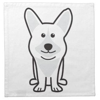 Cardigan Welsh Corgi Dog Cartoon Napkins