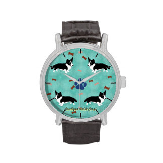 Cardigan Welsh Corgi Wrist Watches