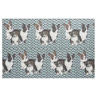 Cardigan Welsh Corgi fabric