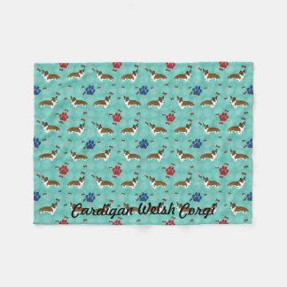 Cardigan Welsh Corgi Fleece Blanket