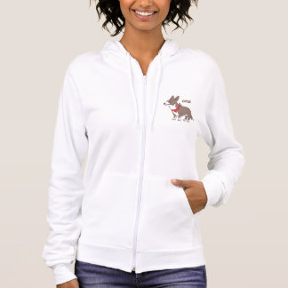 cardigan welsh corgi hoodie