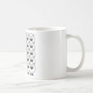 Cardigan Welsh Corgi in the Sheep Coffee Mugs